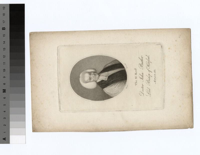 Portrait of Bishop John Butler (WAHP19464)