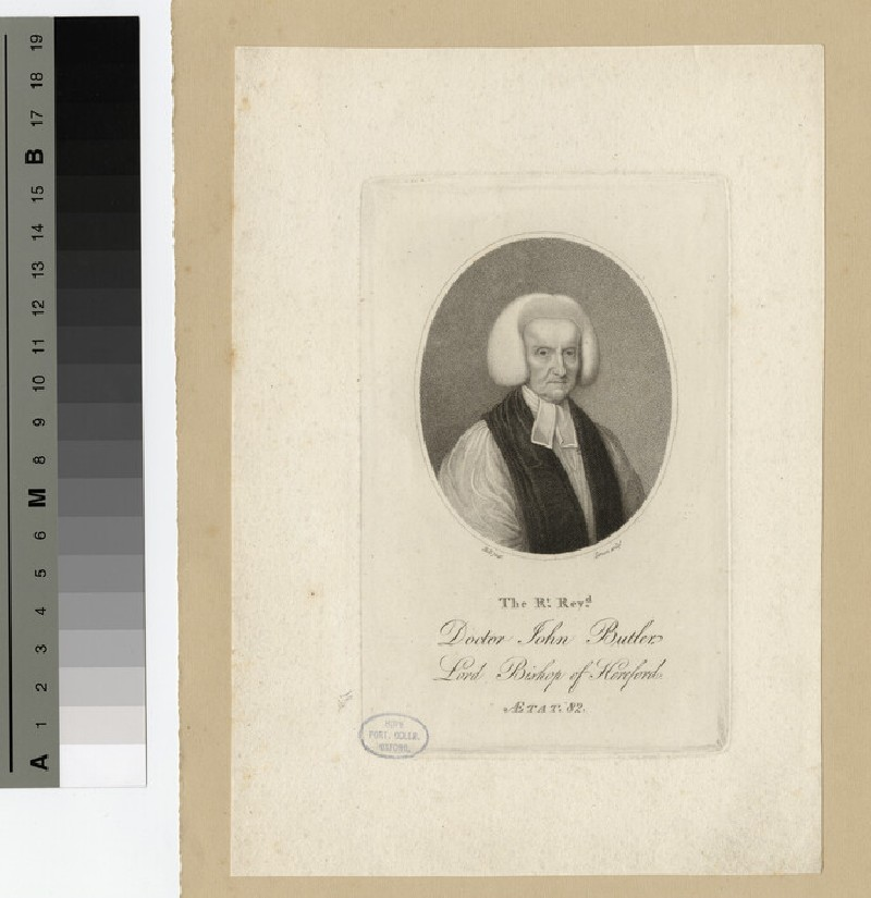 Portrait of Bishop John Butler