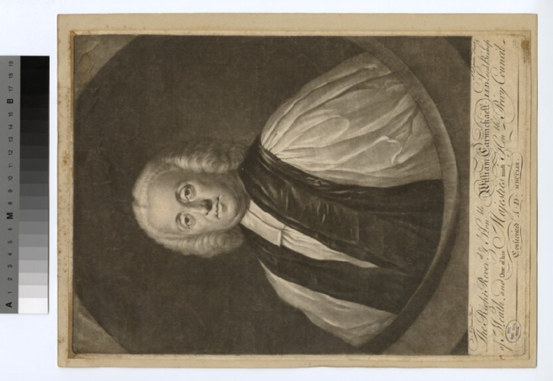 Portrait of Bishop Carmichael