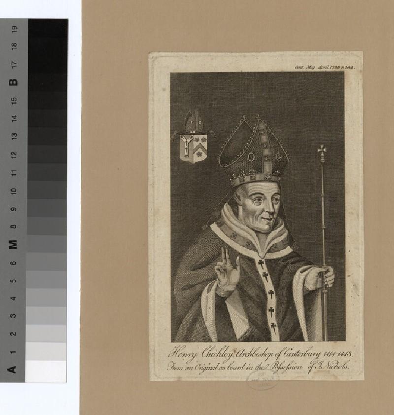 Portrait of Archbishop Chichele