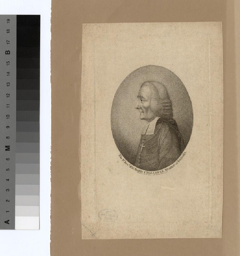 Portrait of Bishop R. Challomer