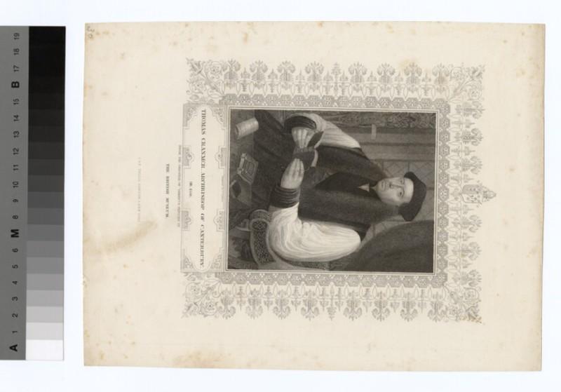 Portrait of Archbishop Cranmer (WAHP19581)