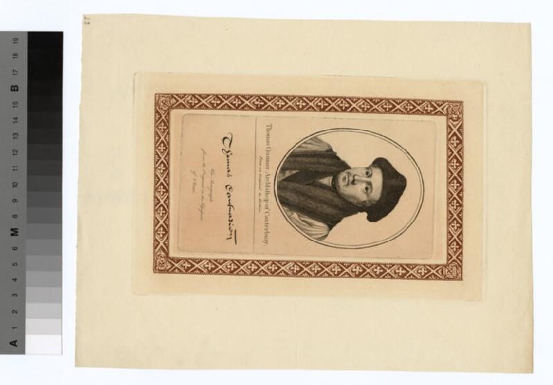 Portrait of Archbishop Cranmer (WAHP19600)