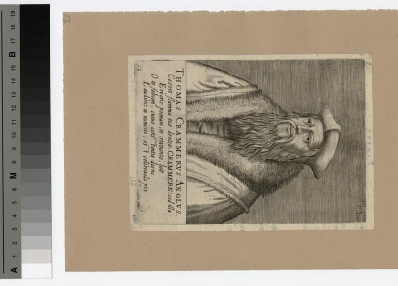 Portrait of Archbishop Cranmer (WAHP19621)