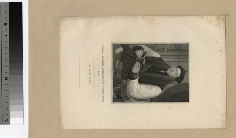 Portrait of Archbishop Cranmer (WAHP19631)