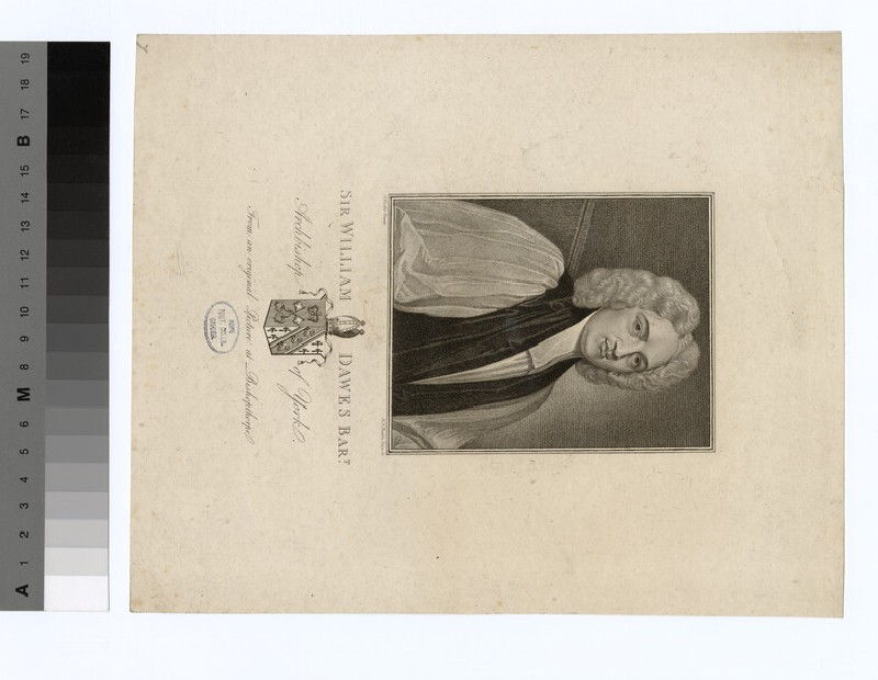 Portrait of Archbishop Dawes (WAHP19667)