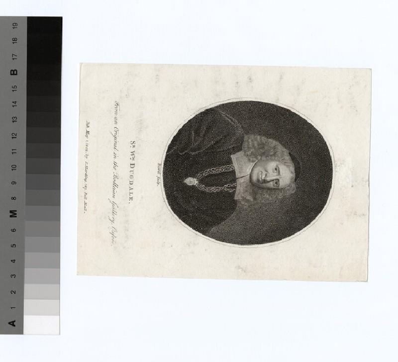 Portrait of Sir W. Dugdale
