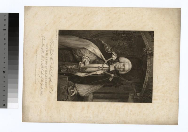 Portrait of Bishop John Douglas