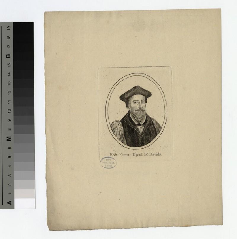 Portrait of Bishop Farrar (WAHP19707)