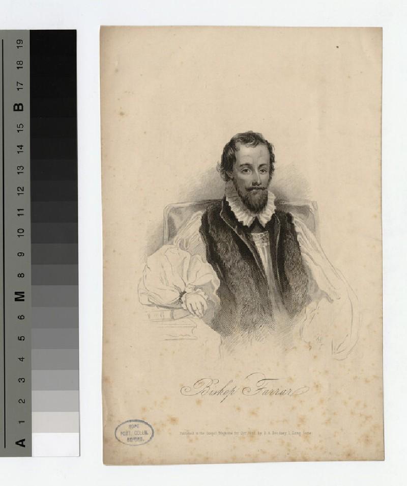Portrait of Bishop Farrar