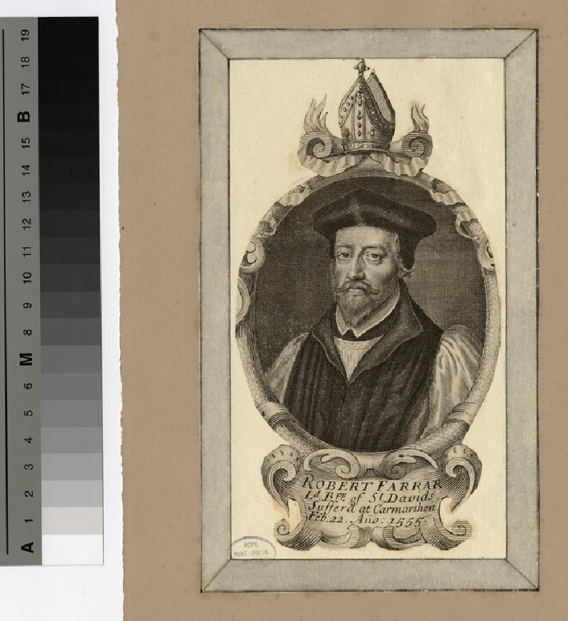 Portrait of Bishop Farrar (WAHP19734)
