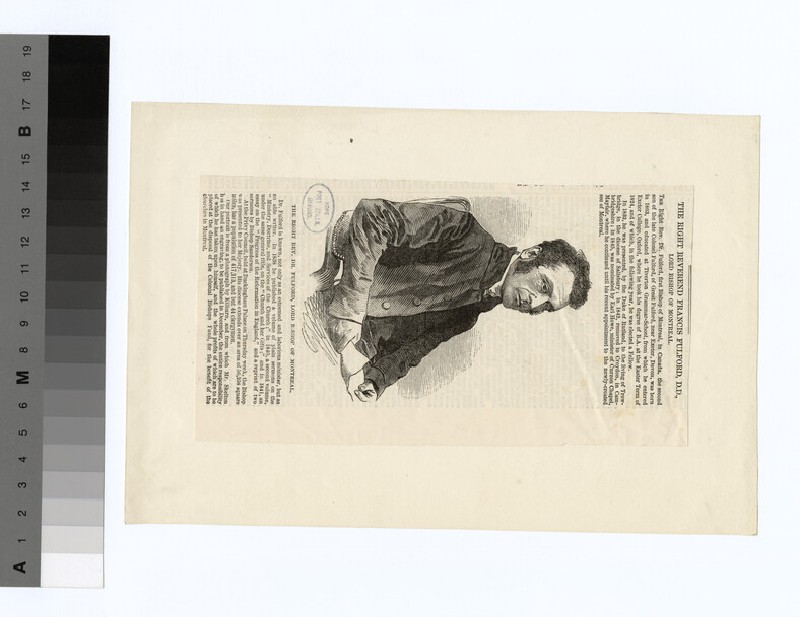 Portrait of Bishop Fulford