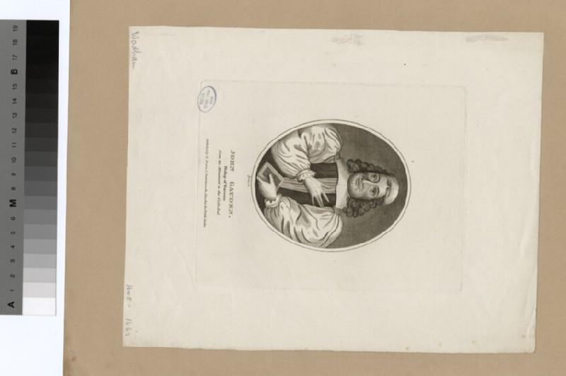 Portrait of Bishop Gauden