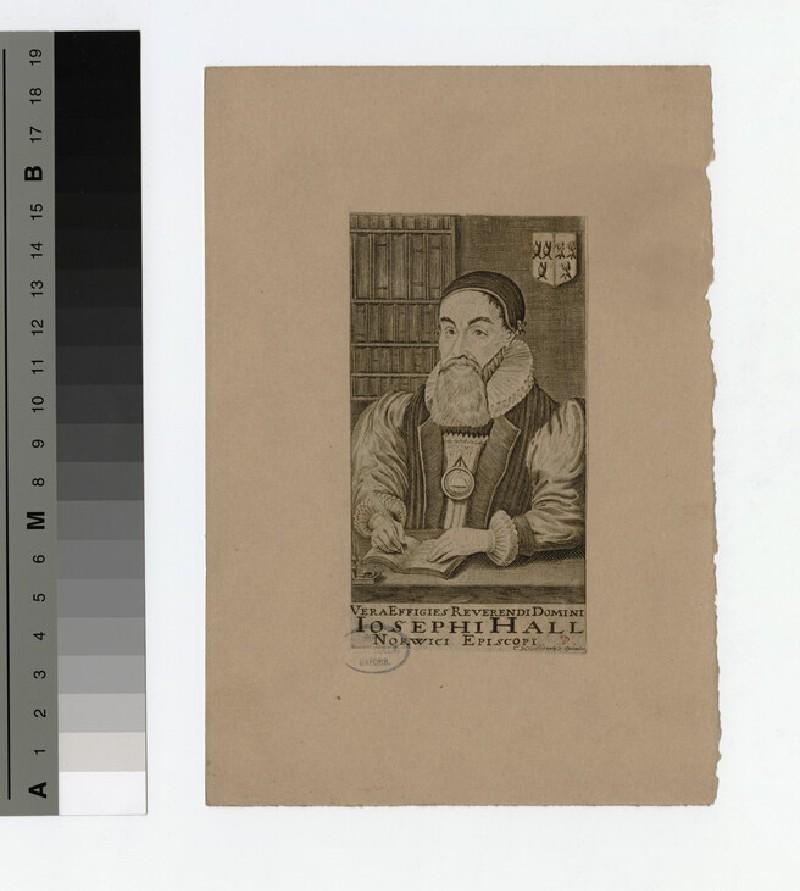 Portrait of Bishop Hall (WAHP19818)