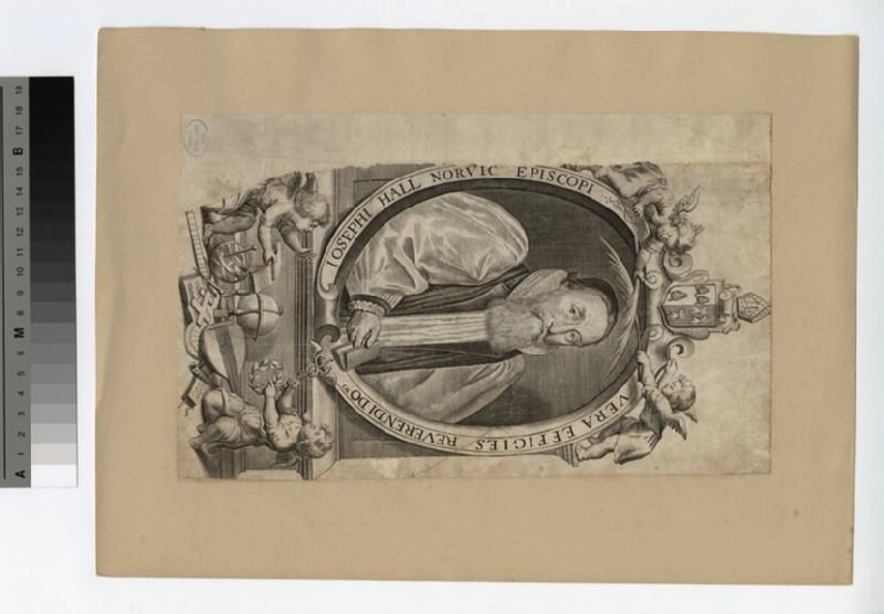 Portrait of Bishop Joseph Hall