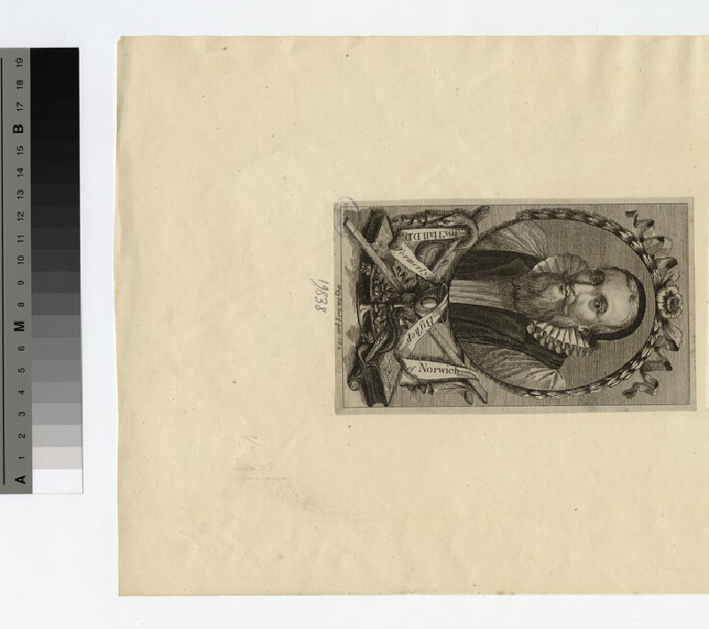 Portrait of Bishop Hall (WAHP19838)
