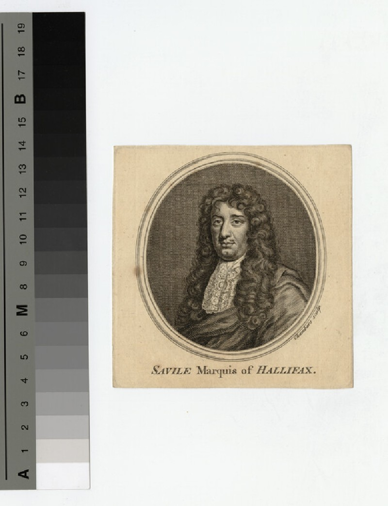 Portrait of Marquis Halifax