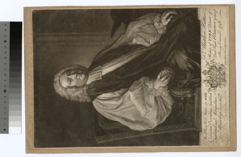 Portrait of Archbishop Hutton