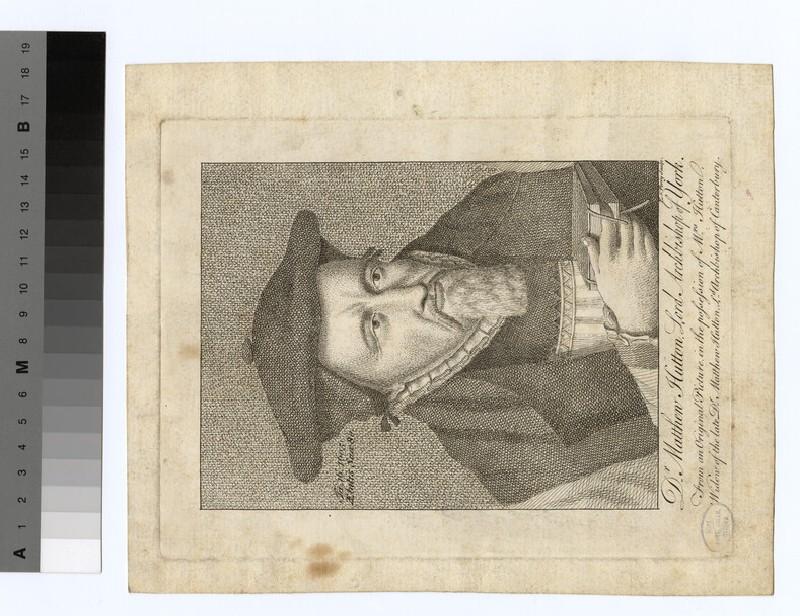 Portrait of Archbishop M. Hutton