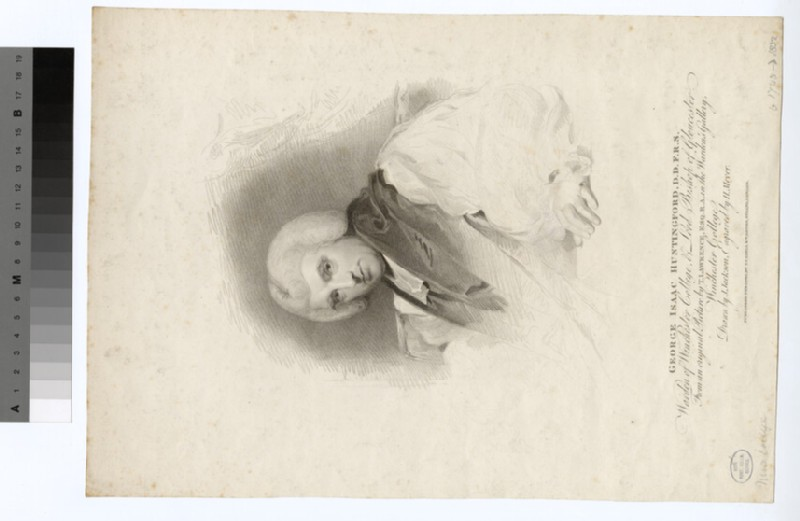 Portrait of Bishop Huntingford