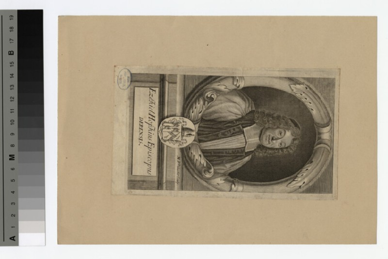 Portrait of Bishop E. Hopkins