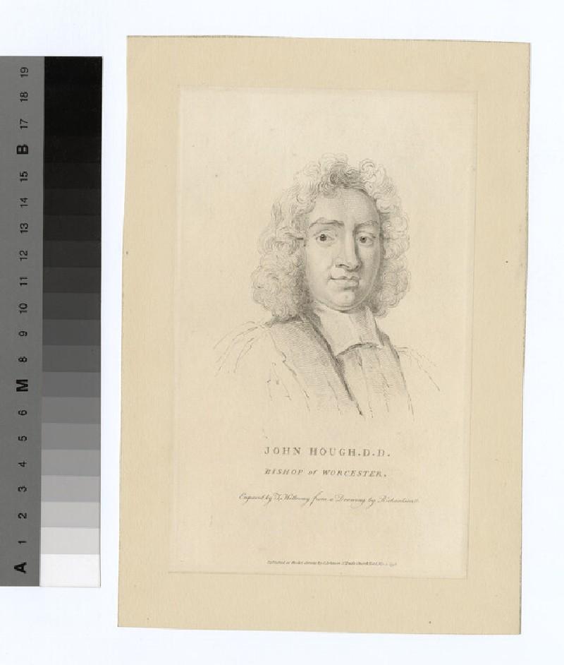 Portrait of Bishop John Hough