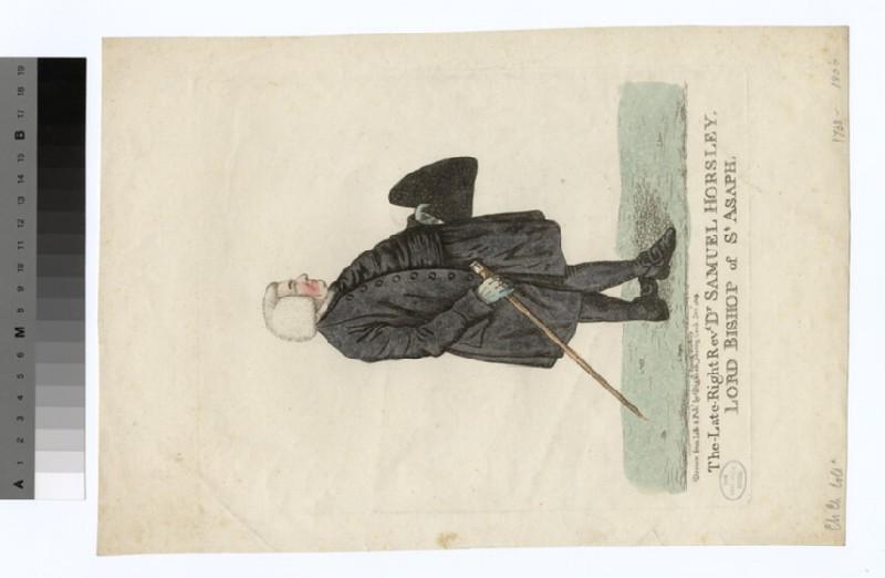 Portrait of Bishop Samuel Horsley (WAHP19968)