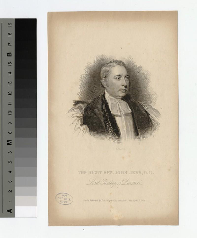 Portrait of Bishop J. Jebb