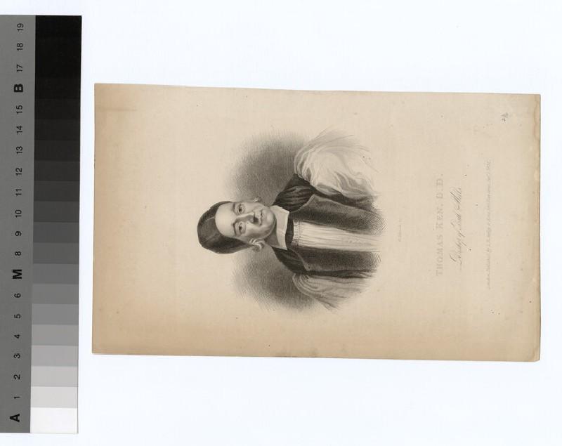 Portrait of Bishop T. Ken (WAHP20030)