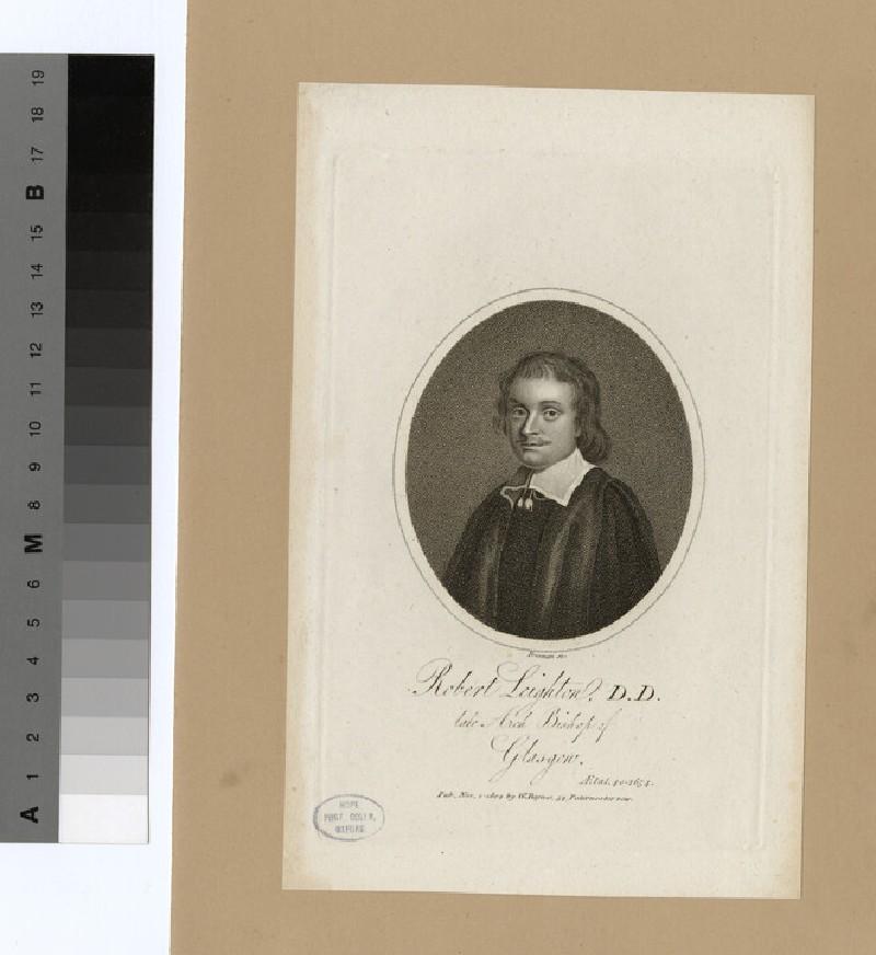 Portrait of Archbishop Leighton (WAHP20145)