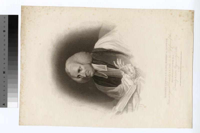 Portrait of Bishop Lowth (WAHP20162)