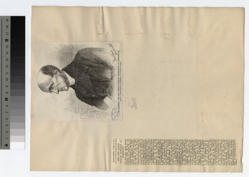 Portrait of Archbishop Manning