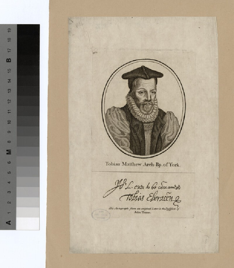 Portrait of Archbishop Matthew (WAHP20197)