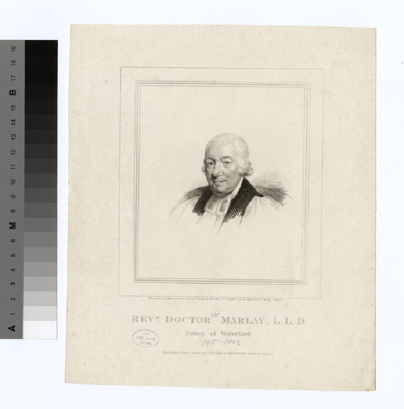 Portrait of Bishop W. Marlay