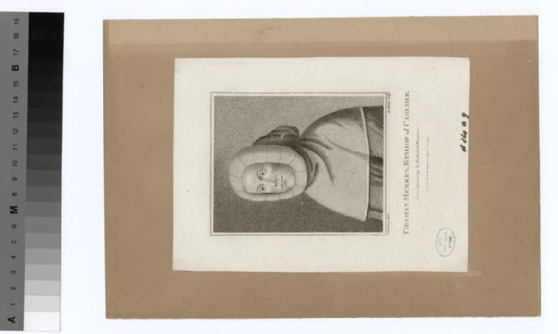 Portrait of Bishop T. Merkes