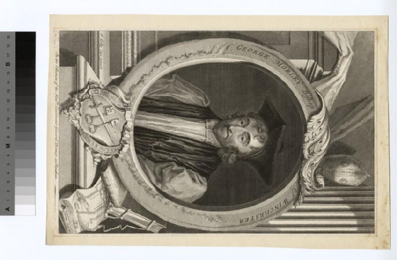 Portrait of Bishop Morley (WAHP20229)