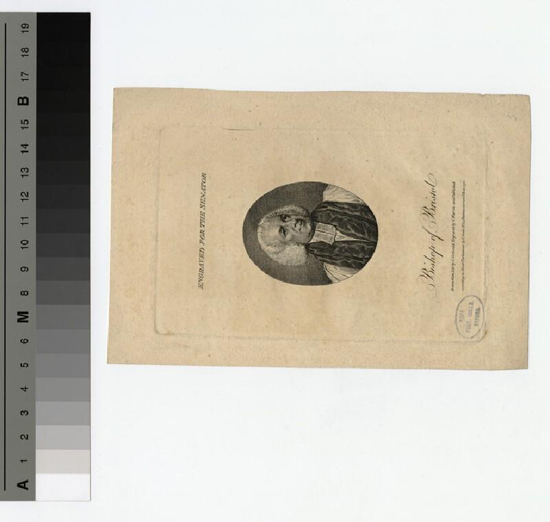 Portrait of Bishop Newton (WAHP20267)