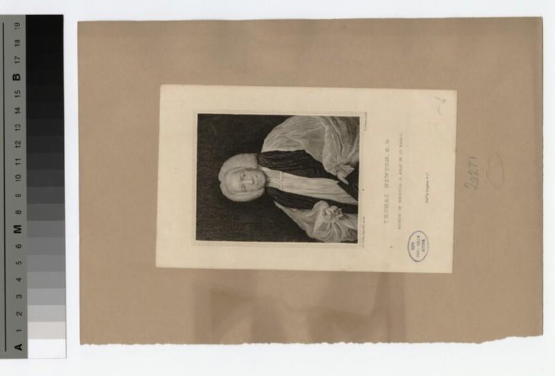 Portrait of Bishop T. Newton