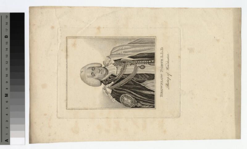 Portrait of Bishop B. North (WAHP20298)