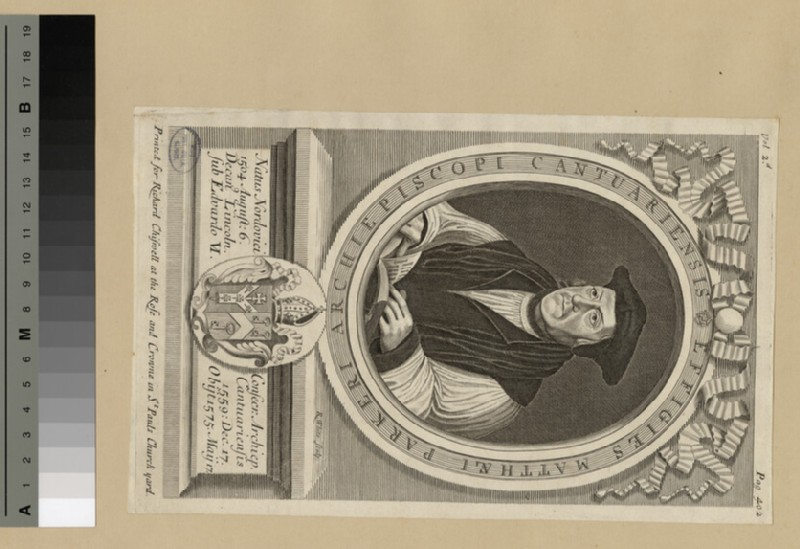 Portrait of Archbishop Parker (WAHP20314)