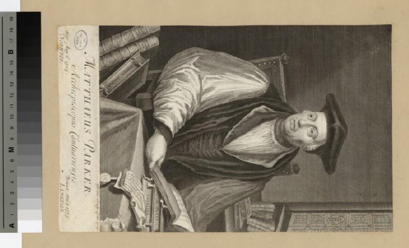 Portrait of Archbishop M. Parker (WAHP20316)