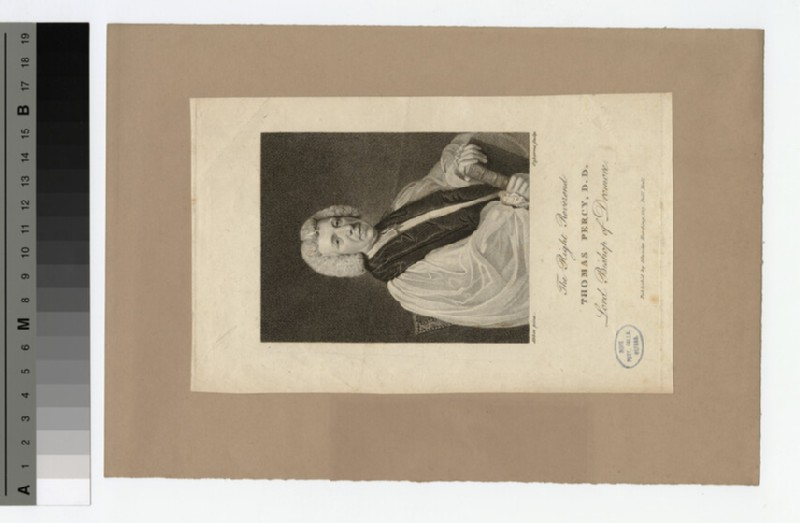 Portrait of Bishop Percy (WAHP20334)
