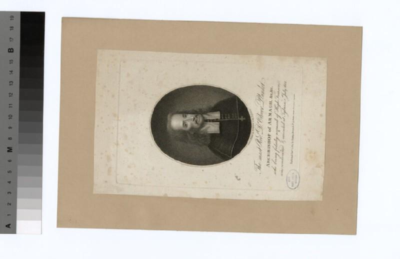 Portrait of O. Plunkett