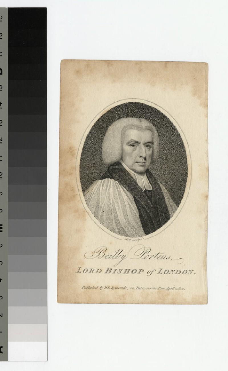 Portrait of Bishop Beilby Porteus