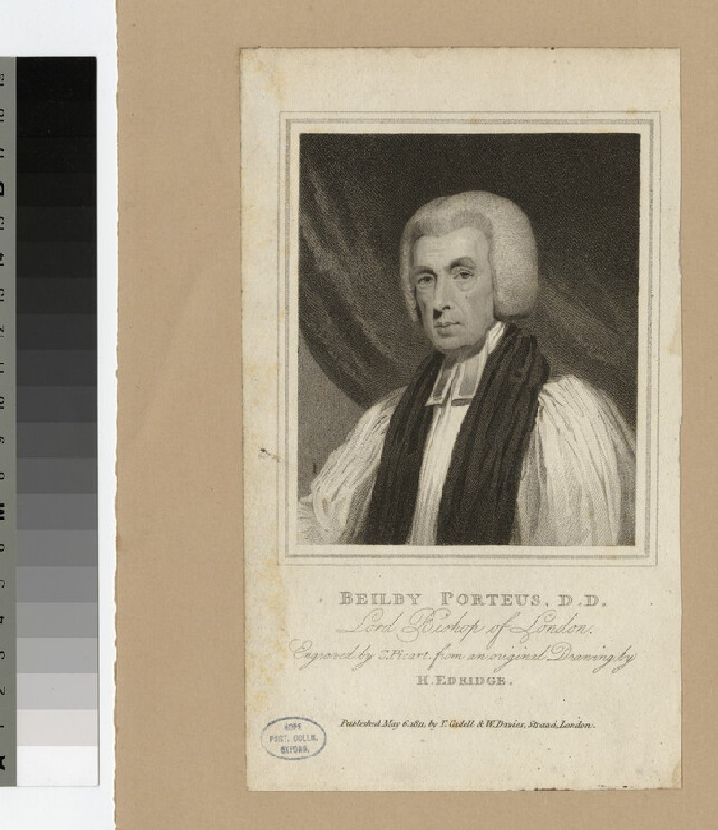 Portrait of Bishop B. Porteus