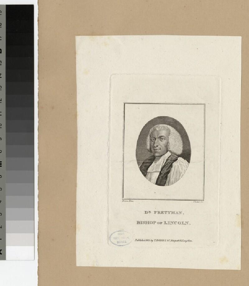 Portrait of Bishop Pretyman (WAHP20434)