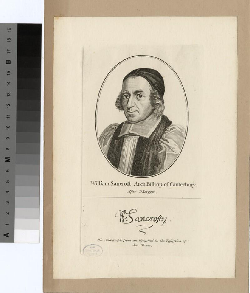 Portrait of Archbishop Sancroft (WAHP20526)