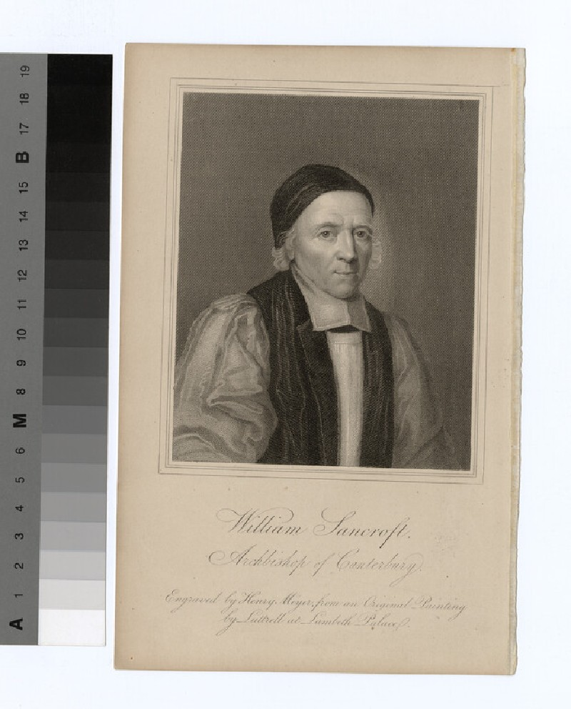 Portrait of Archbishop Sancroft