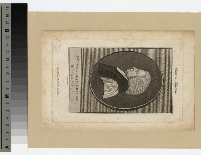 Portrait of Bishop J. Shipley (WAHP20545)
