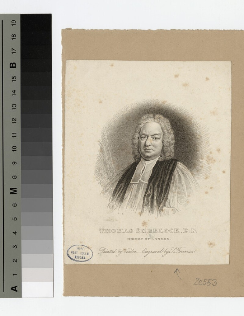 Portrait of Bishop T. Freeman Sherlock (WAHP20553)